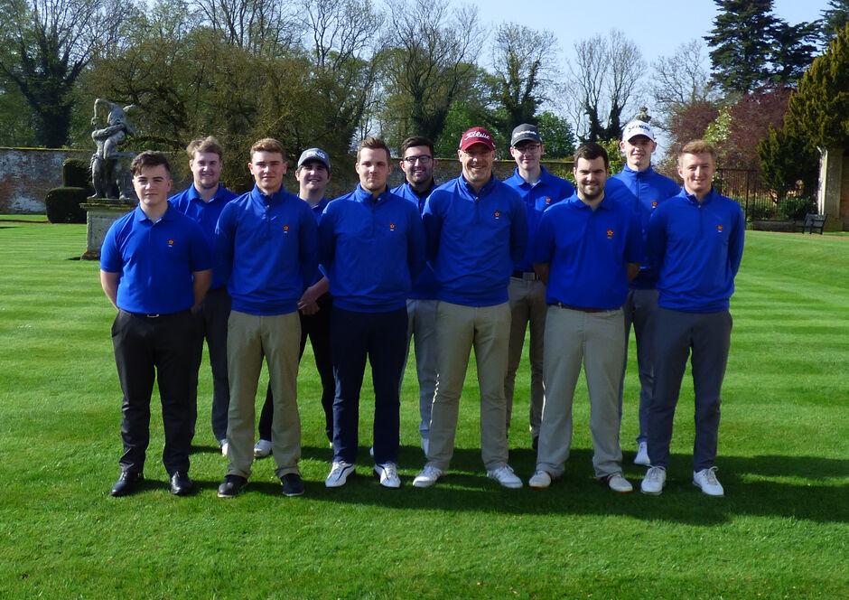 1st team v Warwickshire 2018
